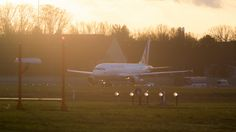 Airplane @Airport @Sunset by Oliver Tank Photography on 500px