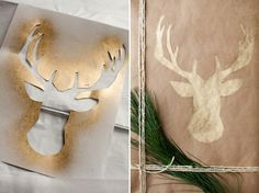 More Christmas gift wrapping inspiration! Check it out on Garland of Grace. Follow for more Homemade Projects.