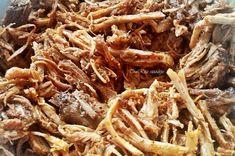 Pulled Pork, Street Food, Beef, Ethnic Recipes, Simple, Shredded Pork, Meat, Steak, Braised Pork