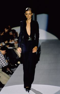 Gucci Fall 1996 Ready-to-Wear Fashion Show - Trish Goff