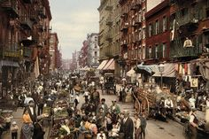 New York's Lower East Side in the 1890's looks a bit like New Delhi in the 1990s.