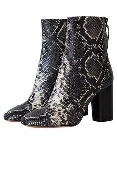 Isabel Marant Grover Boots Python Grey