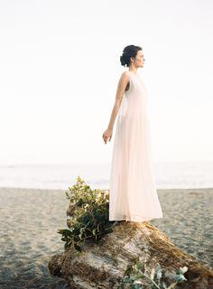 Ethereal beach wedding inspiration