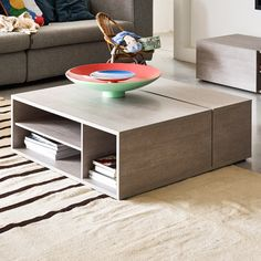 Bestar Clic Furniture Middle Coffee Table | AllModern