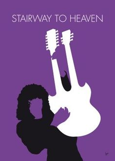 No011 MY Led zeppelin Minimal Music poster