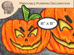 Printable Digital Halloween Decoration DIY Clip Art by PaperPicker, $5.00