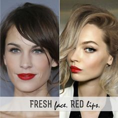How to: Fresh Face & Bright Lips   FRANKIE HEARTS FASHION