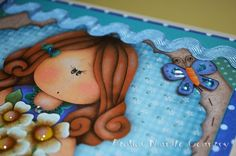 Tays Rocha: Caixa híbrida em scrap decor e decoupage #artesanato #crafts #decoupage #scrapdecor #taysrocha #mundocountry