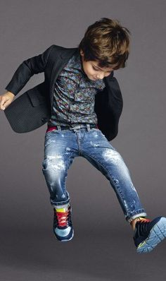 Dolce and Gabbana Summer 2015 Child Collection
