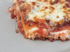 Lasagna recipe from the Creamette Label of old. @Amy Lyons Lyons Lyons Foulger who says it is the best lasagna ever!