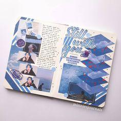 Bullet Journal Books, Journal Diary, Book Journal, Journal Ideas, Kpop, Notes Design, Journal Design, Bullet Journal Inspiration, Bujo