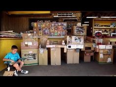 A 9 year old boy builds an elaborate cardboard arcade in his dad's used auto parts store. All he needs now is a customer. http://CainesArcade.com