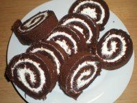 Cake Roll Recipes, Czech Recipes, Rolls Recipe, Gluten Free Baking, Sweet Recipes, Cheesecake, Deserts, Food And Drink, Cooking Recipes