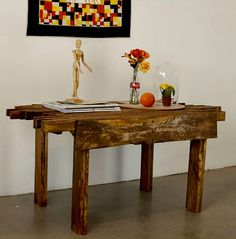DIY Projects For Men How To Make A Table With Shipping Pallets