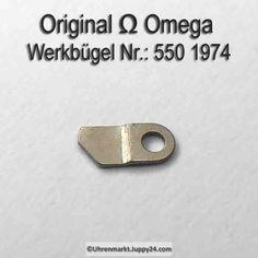 Omega Werkbügel , Werkbefestigungsbügel. Part Nr. Omega 550-1974 -