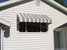 Spring is in air and slowly stepping in. You should clean your aluminum awnings to give a clear picture of your house. Residential awning can give a stylish outlook to your house, can improve the arch Aluminum Window Awnings, Aluminium Windows, Copper Awning, Metal Awning, Garden Awning, Porch Awning, Front Porch, Fabric Awning, Outdoor Projects