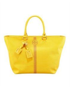 Glorious yellow bag by Tori Burch $395.00.