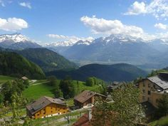 The view from Leysin never gets old. Make sure you see it for yourself one day!