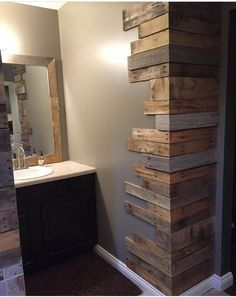 Here you are currently viewing the result of 10 DIY Pallet Furniture Ideas. You can be see here the ideas of 10 DIY Pallet Furniture. 10 DIY Pallet Furniture Ideas are so interesting. You can be use the DIY Pallet Furniture Ideas in creating somethin House Design, Farmhouse Decor, Wooden Pallet Beds, Wooden Pallet Projects, Home Remodeling, New Homes, Home Diy, Rustic House, Rock Decor
