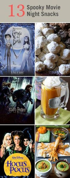 10 fun Movie and Treat ideas for a Halloween Movie Night!! Some of - halloween movie ideas