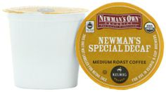 Green Mountain Coffee Newman's Special Decaf, K-Cup Portion Pack for Keurig K-Cup Brewers, Certified Organic, Green Mountain Coffee, Coffee Pods, Coffee Roasting, Keurig, Brewing, Hot Coffee, Warehouse, Coupons, Coupon