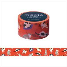 マステ(マスキングテープ)   1巻   マスキングテープ・マルチ/「マステ」ジャパニーズ2/ねこ   マークス公式通販