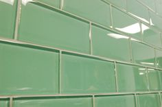 Green Glass Tile And Sage Green Subway Glass Tiles Modern Bathroom Other Metro By
