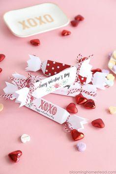 Free Printable Valentine Favor Boxes