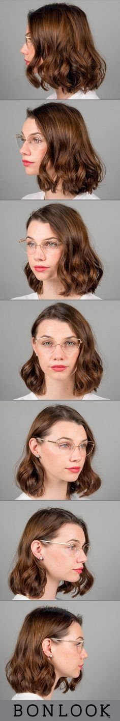 7dfd7f4295 Women s Eyeglasses - Airy in Gold Marble. Cadres De Lunettes De  PrescriptionMonture Cat EyeDes ...