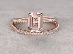 Etsy Finds: 18 Emerald Cut Engagement Rings