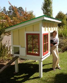 homemade chicken coops ideas | Dreamin' of Chicken Coops