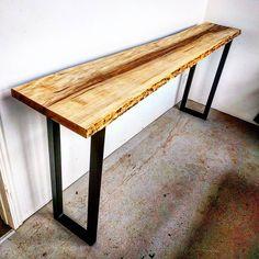 23 best live edge console table images woodworking carpentry rh pinterest com