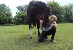 Never give up, on Your dreams. <3 Forever in my heart. </3 Girl with horse. ^^