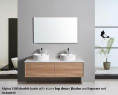 The beautiful Alpina wall hung vanity gives the highly sought timber look at a great price. However, the price is the only thing that's budget about this vanity which utilises an all drawer design with soft close system, matching interior finish and deep drawers to really make best use of the space and allow easy access to all your bathroom needs.