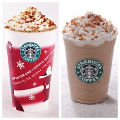 Creme Brulee Latte and Frappuccino! Pick one up in our lobby today. #starbucks #irvine #hotel