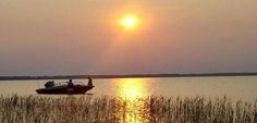 Sunset on Lake Waccamaw - Lake Waccamaw is the largest natural Lake between Maine and Florida.