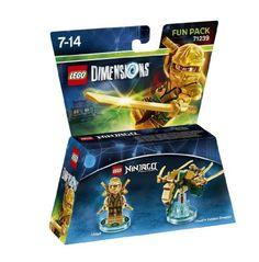 Lego Dimensions: Fun Pack Lloyd (Gold Ninja)
