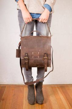 frankie fierce leather bag on uncovet