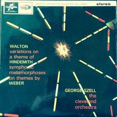 Record sleeve - William Walton/Paul Hindemith