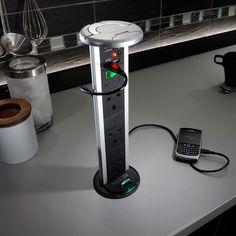 SensioPod, pop up socket, pull up socket, PowerPod, power solution