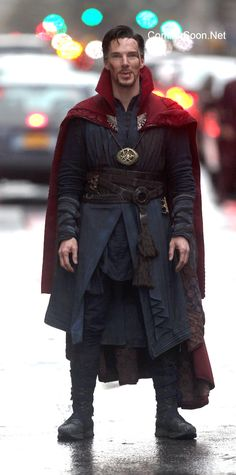 Benedict Cumberbatch as Dr. Strange; Oh my, I can not wait to see the extremely talented and handsome Benedict Cumberbatch in his role as Dr. Strange. ^_^