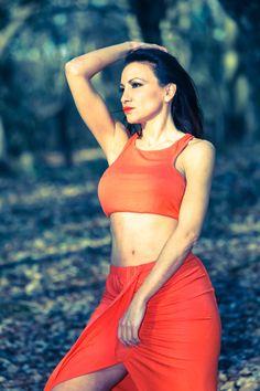 #forest #photoshoot #modelling #orange April 2017