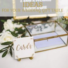 Lovely Ideas For Your Wedding Gift Table                              …