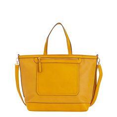 TERESA - TOTE HANDBAG   #spring #woman #collection #bag #yellow #carpisa