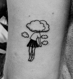 Head in the clouds tattoo. Dreamer
