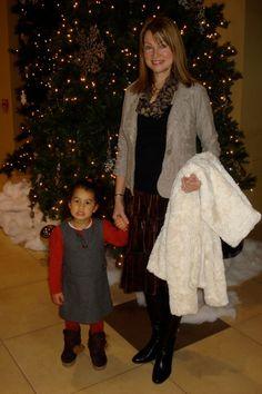 My little granddaughter My Favorite Part, Grandchildren, My Hair, Fur Coat, How To Wear, Beauty, Style, Fashion, Beleza