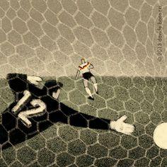 1990 World Cup Final art.