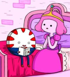 Peppermint Butler tells the best stories!