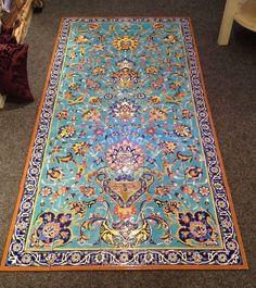 Orientalisches Fliesenbild  ( 50 Fliesen ) von COMING HOME - Für ein schönes Zuhause auf DaWanda.com