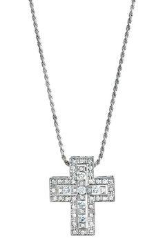 Another gorgous Damiani Diamond Cross Necklace